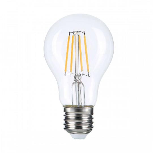 Ampoule LED E27 A60 filament E27 8W (eq. 60 watts) - Blanc Chaud 2700K