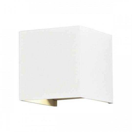 Applique LED murale 12W étanche IP54 Blanc - Blanc Chaud 3000K