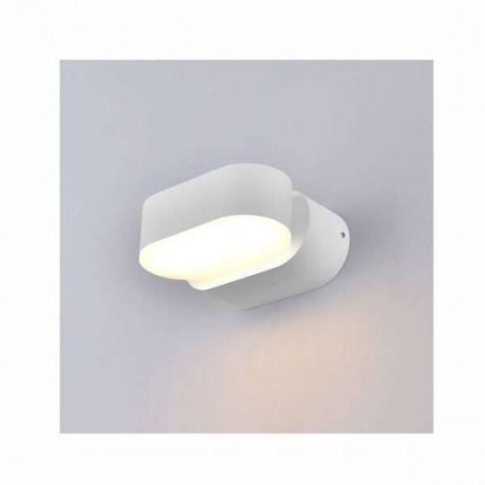 Applique LED murale 6W étanche IP54 Blanc - Blanc Naturel 4000K
