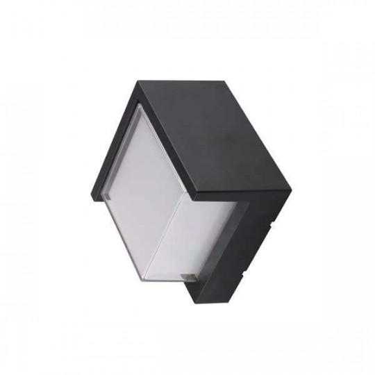 Applique LED murale 15W étanche IP65 Noir - Blanc Chaud 3000K
