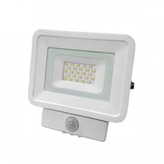Projecteur LED à Détecteur 20W étanche IP65 1150lm (115W) - Blanc Chaud 2700K