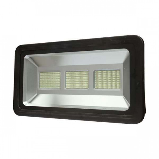 Projecteur LED 300W Noir étanche IP66 24000lm (1800W) - Blanc du Jour 6000K