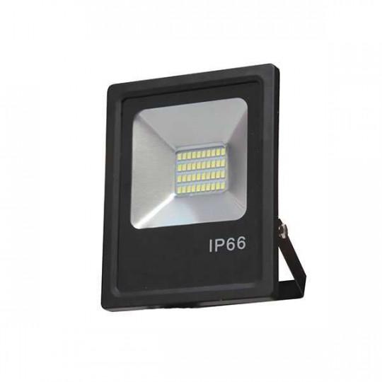 Projecteur LED 30W Noir étanche IP66 2400lm (240W) - Blanc Naturel 4500K