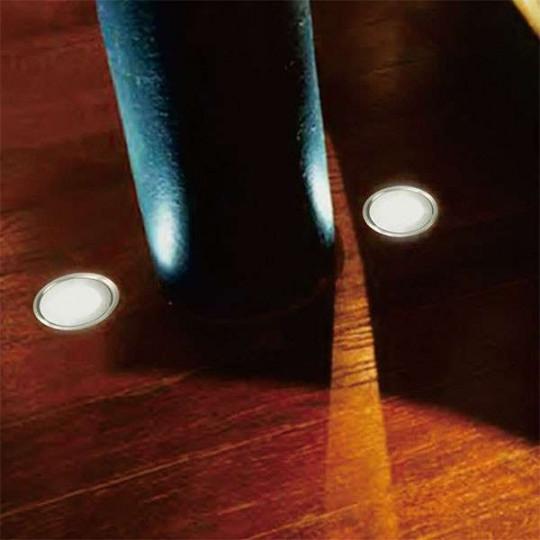 Kit spots LED encastrables ultra-plats