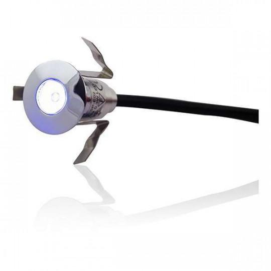 Mini spot LED Encastrable Rond 0,6W - Blanc Froid 6000K