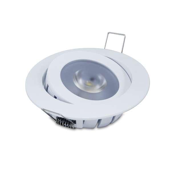 Spot encastrable 10W LED CREE équivalent 80W - Blanc Chaud 2700K