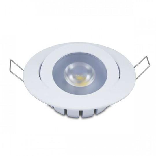 Spot encastrable Dimmable 10W LED CREE équivalent 80W - Blanc Chaud 2700K