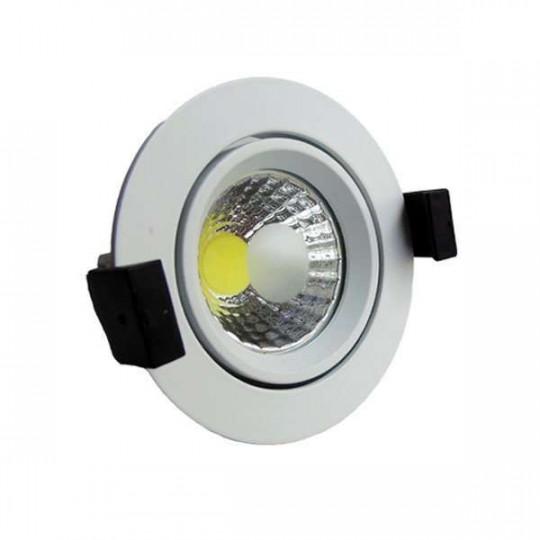 Downlight LED 8W rond ∅95mm - Blanc du Jour 6000K