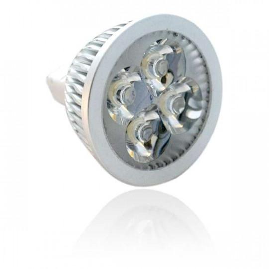 Spot LED MR16 5W 12V Dimmable éclairage 50W - Blanc Chaud 2700K