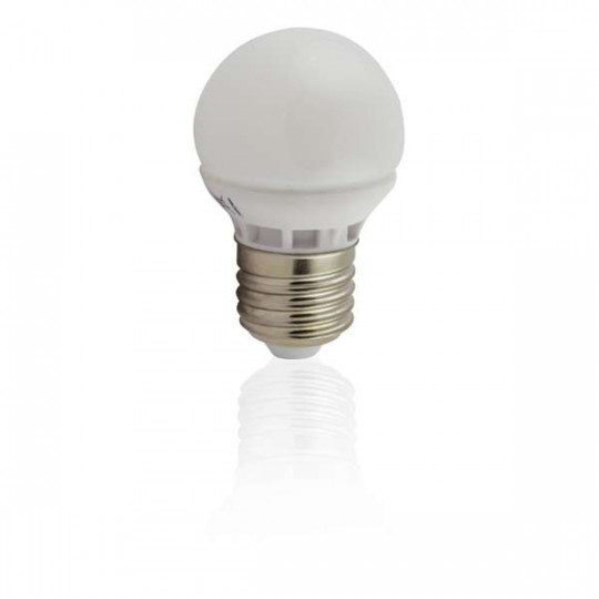 Ampoule E27 LED 5W Globe (équivalent 40W)