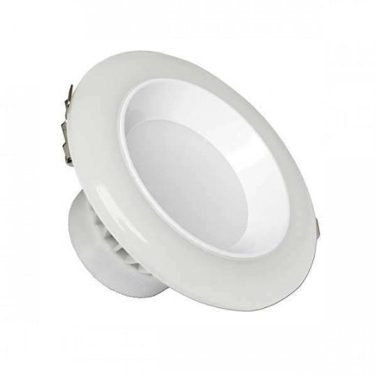 Downlight LED 12W rond ∅120mm Blanc - Blanc CCT