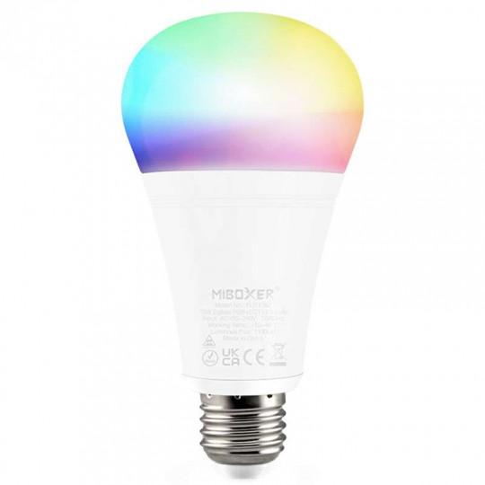 Ampoule LED RGB+CCT E27 12W Connectée Zigbee 3.0 Mi-Light FUT105Z