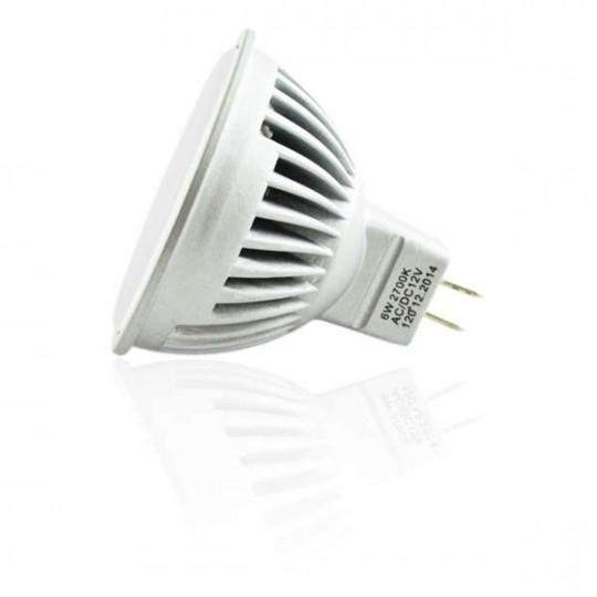 Ampoule LED MR16 6W éclairage 50W - Blanc Chaud 2700K