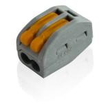 Borne de connexion électrique 2 fils type WAGO 222