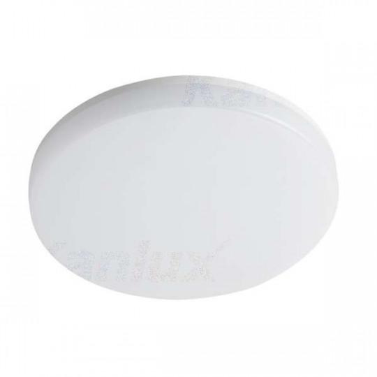 Plafonnier LED 36W à détecteur étanche IP54 rond ∅327mm Blanc - Blanc Naturel 4000K