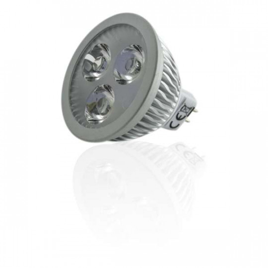 Spot LED MR16 4W 12V Dimmable équivalent 40W