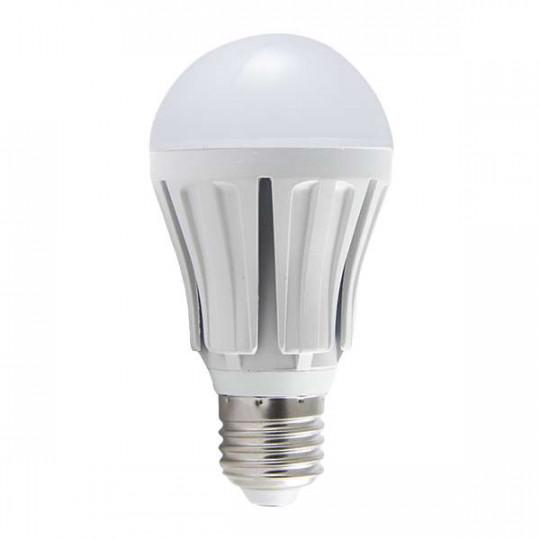 Ampoule LED E27 10W Ronde éclairage 80W