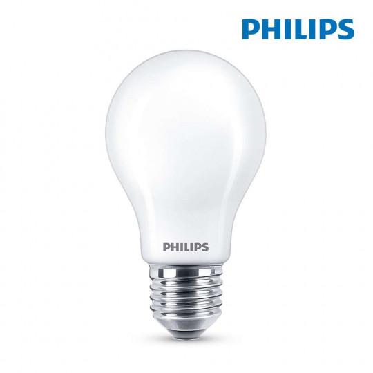 Ampoule LED E27 8,5W Ronde A60 équivalent à 75W - Blanc du Jour 6500K