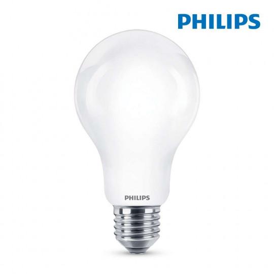 Ampoule LED E27 13W Ronde A70 équivalent à 120W - Blanc Chaud 2700K
