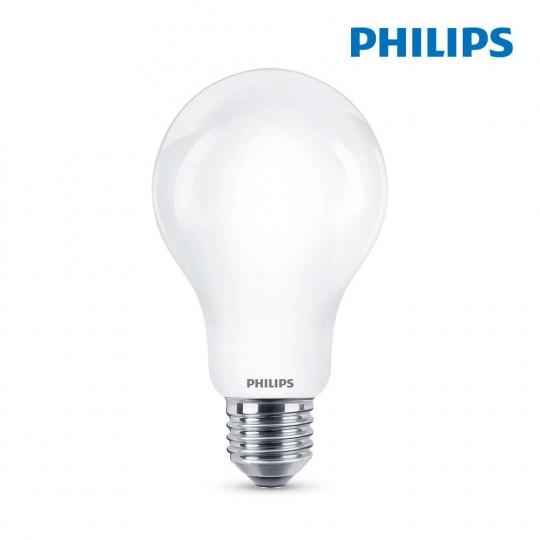 Ampoule LED E27 13W Ronde A70 équivalent à 120W - Blanc Naturel 4000K