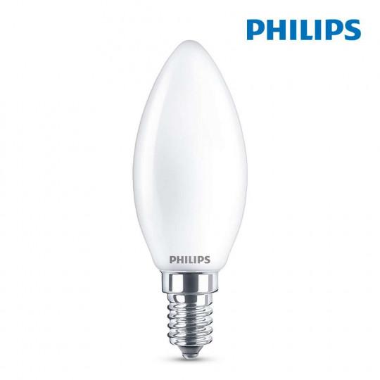 Ampoule LED E14 4,3W équivalent à 40W - Blanc Chaud 2700K