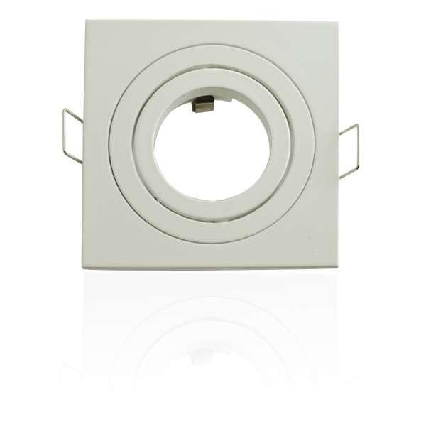 Kit Spot LED GU10 5W COB équivalent 50W carré