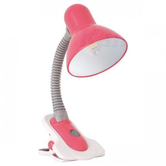 Lampe de bureau 40W Rose - culot E27