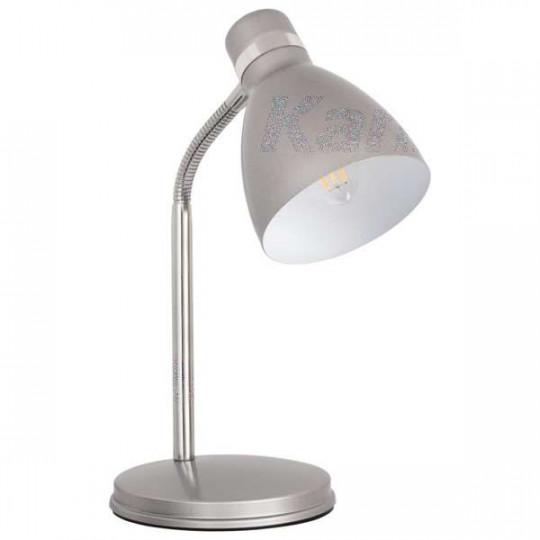 Lampe de bureau 40W Argent - culot E14