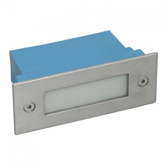 Applique encastrable LED extérieure étanche rectangulaire 0,6W