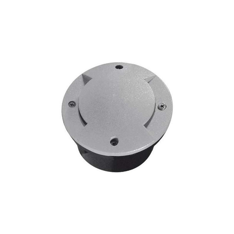 Borne LED encastrable sol 1W lumière 10W étanche