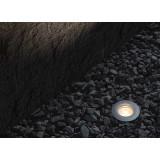 Borne LED encastrable sol 0,7W  étanche ronde