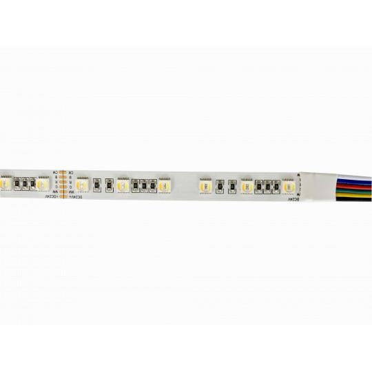 Ruban LED 60LED/m 22W/m RGB+CCT 2400-6000K 1m