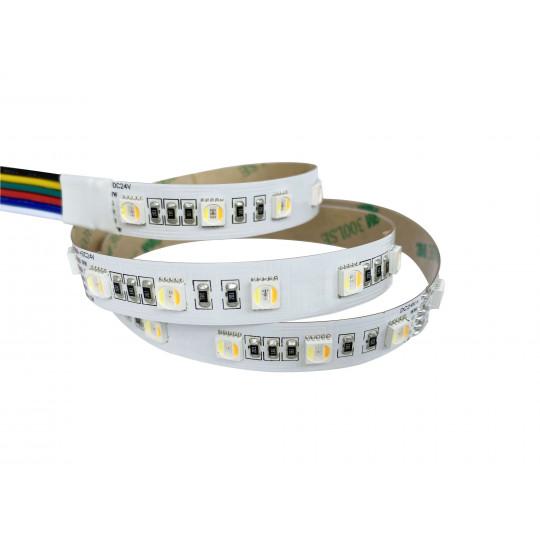 Ruban LED 60LED/m 22W/m RGB+CCT 2400-6000K 5m