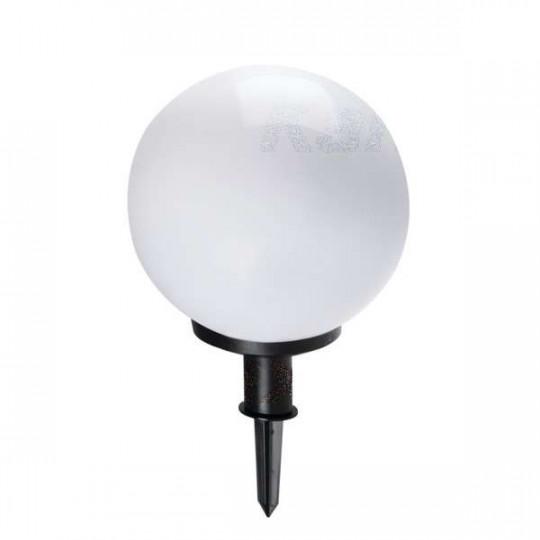 Luminaire pour le sol pour 1 ampoule E27 étanche IP44 Blanc