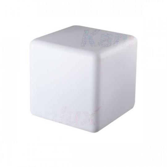 Luminaire pour le sol pour 1 ampoule E27 étanche IP65 Blanc
