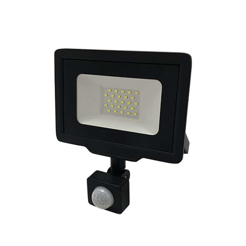 Projecteur LED Noir 20W (100W) à...