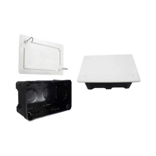 Boîte de Dérivation Encastrable Rectangulaire 200x130mm 8 Entrées