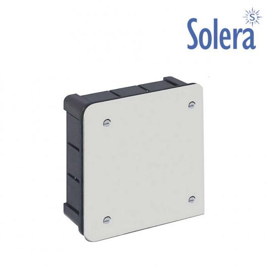 Boîte de Dérivation Encastrable à Sceller Carrée 100x100x45mm