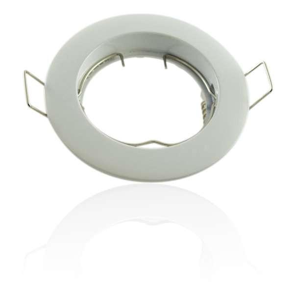 Kit Spot LED GU10 COB 5W équivalent 50W Blanc neutre 4100K fixe blanc dimmable