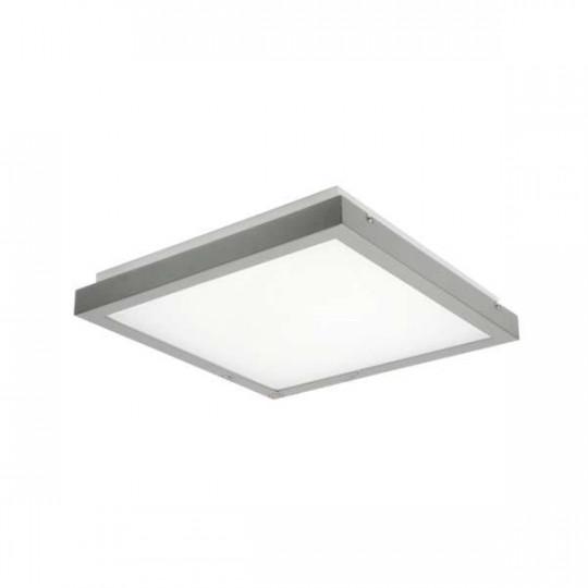 Plafonnier LED 25W  Gris - Blanc Naturel 4000K