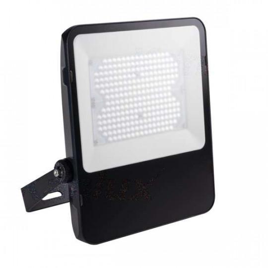 Projecteur LED 200W Noir étanche IP65 22000lm (1600W) - Blanc Naturel 4000K