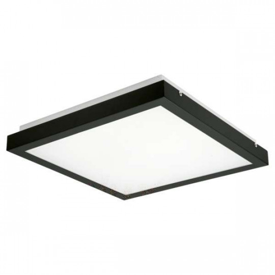 Plafonnier LED 38W  Noir - Blanc Naturel 4000K