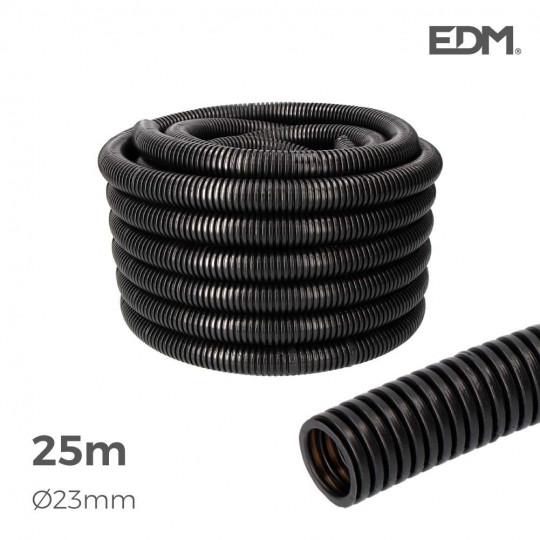 Gaine Électrique ICTA Ø32mm Noir Usage Intérieur 25m
