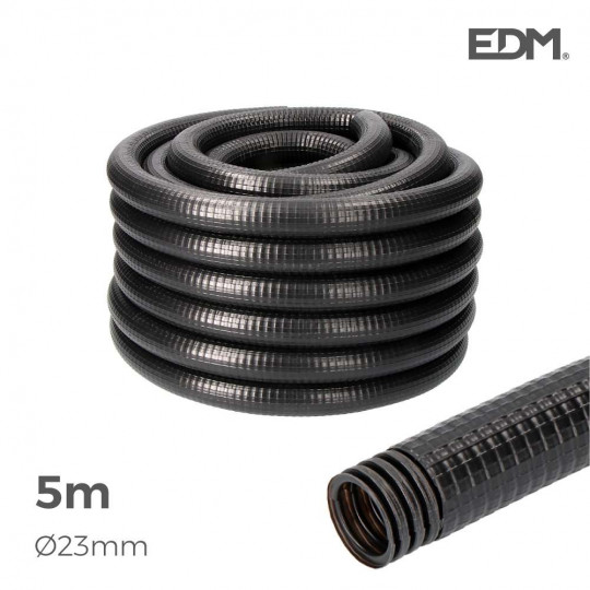 Gaine Électrique ICTA Ø32mm Noir Usage Extérieur5m