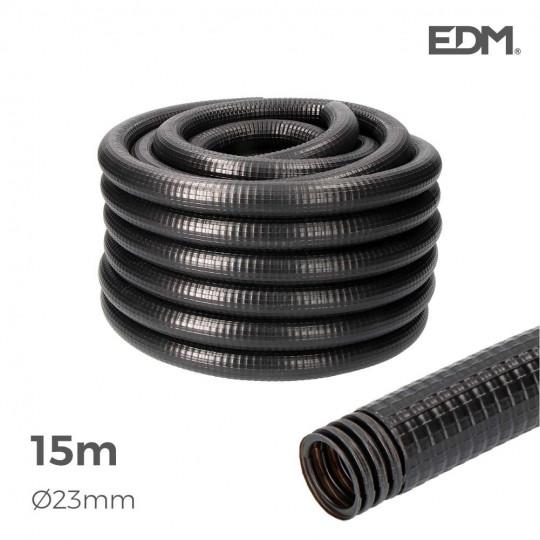 Gaine Électrique ICTA Ø32mm Noir Usage Extérieur15m
