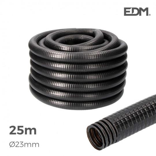 Gaine Électrique ICTA Ø32mm Noir Usage Extérieur25m