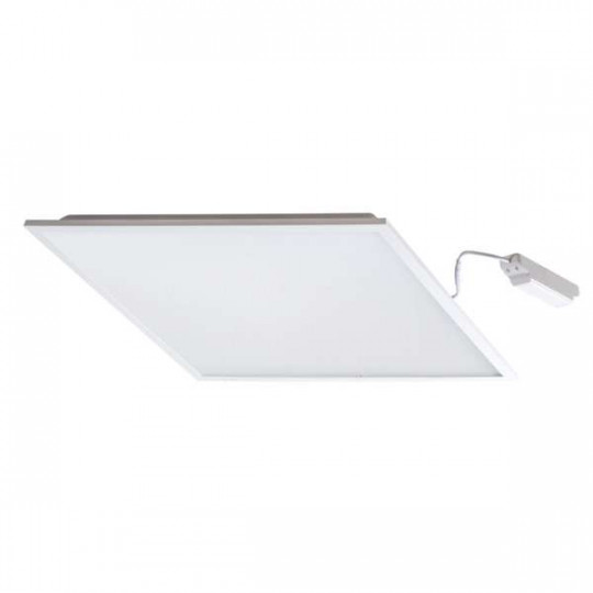 Dalle LED 38W carré 595mmx595mm Blanc - Blanc Naturel 4000K