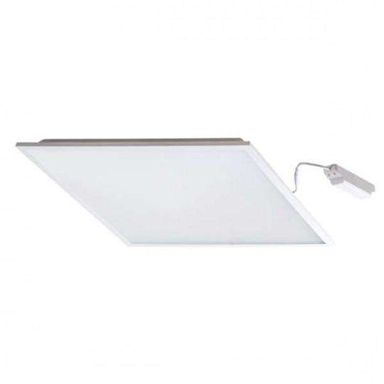 Dalle LED 38W étanche IP44 carré 595mmx595mm Blanc - Blanc Naturel 4000K
