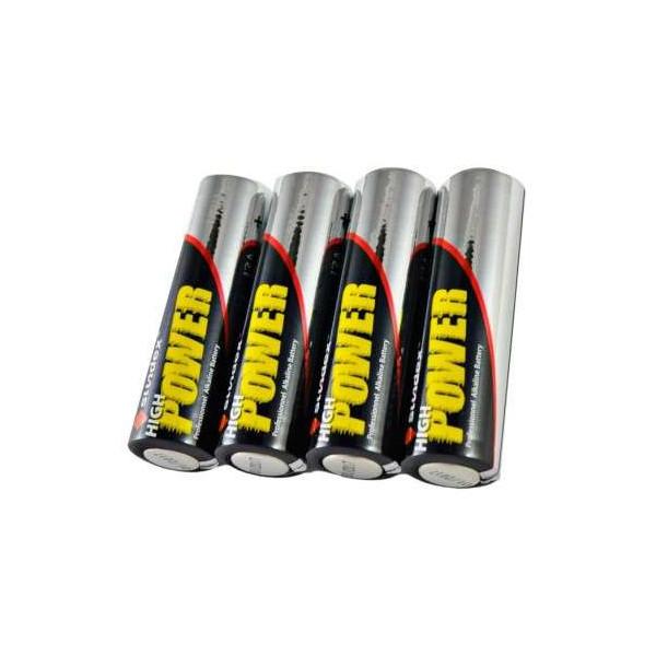 Pack de 4 Piles LR06 AA Super Alcaline 12-48 SUNDEX