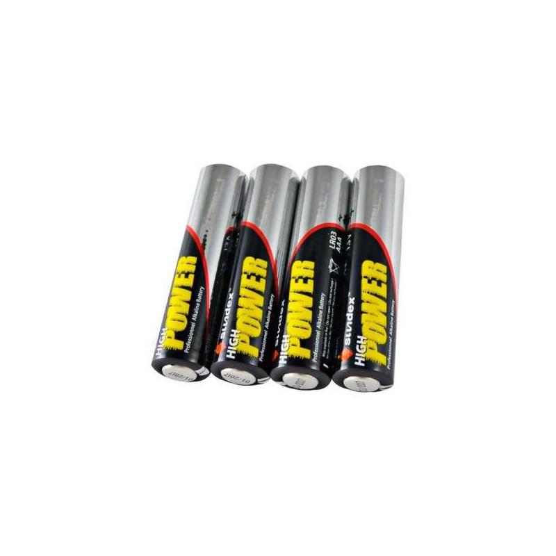 Pack de 4 Piles LR03 AAA Super...